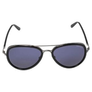 نظارة شمسية أفياتورز توم فورد مايلز TF341 أسود/أزرق