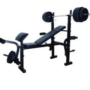 Gym plates 50 kg and wansa. multiple bench